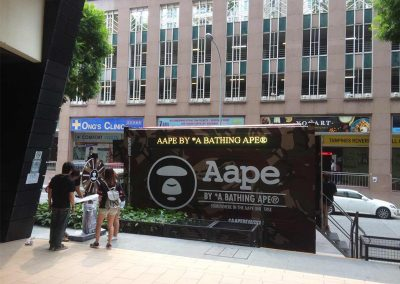 Aape by A Bathing Ape Roving Truck Event