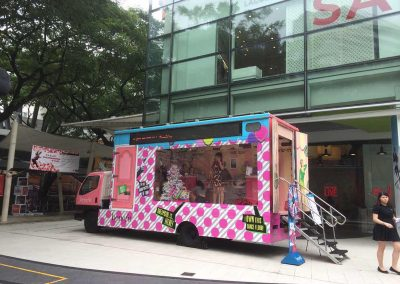 Benefit Cosmetics Roving Truck Event